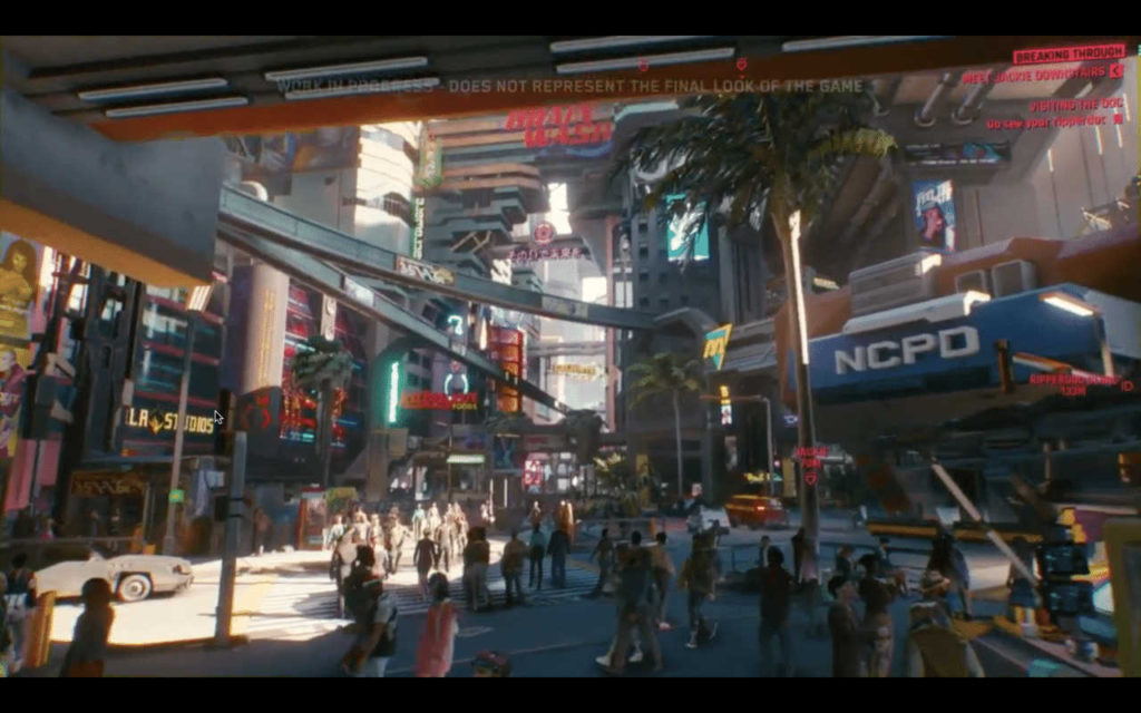 gameplay di Cyberpunk 2077