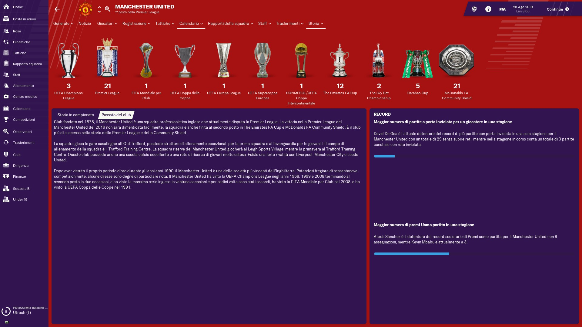 Megapack dei Trofei